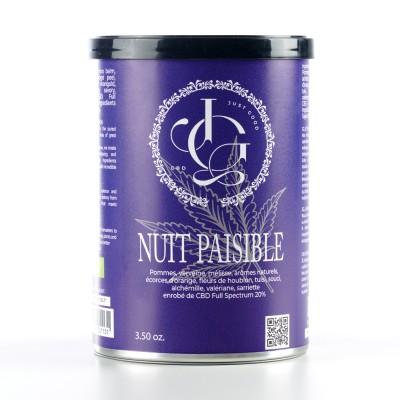 TISANE CBD 20% : NUIT PAISIBLE